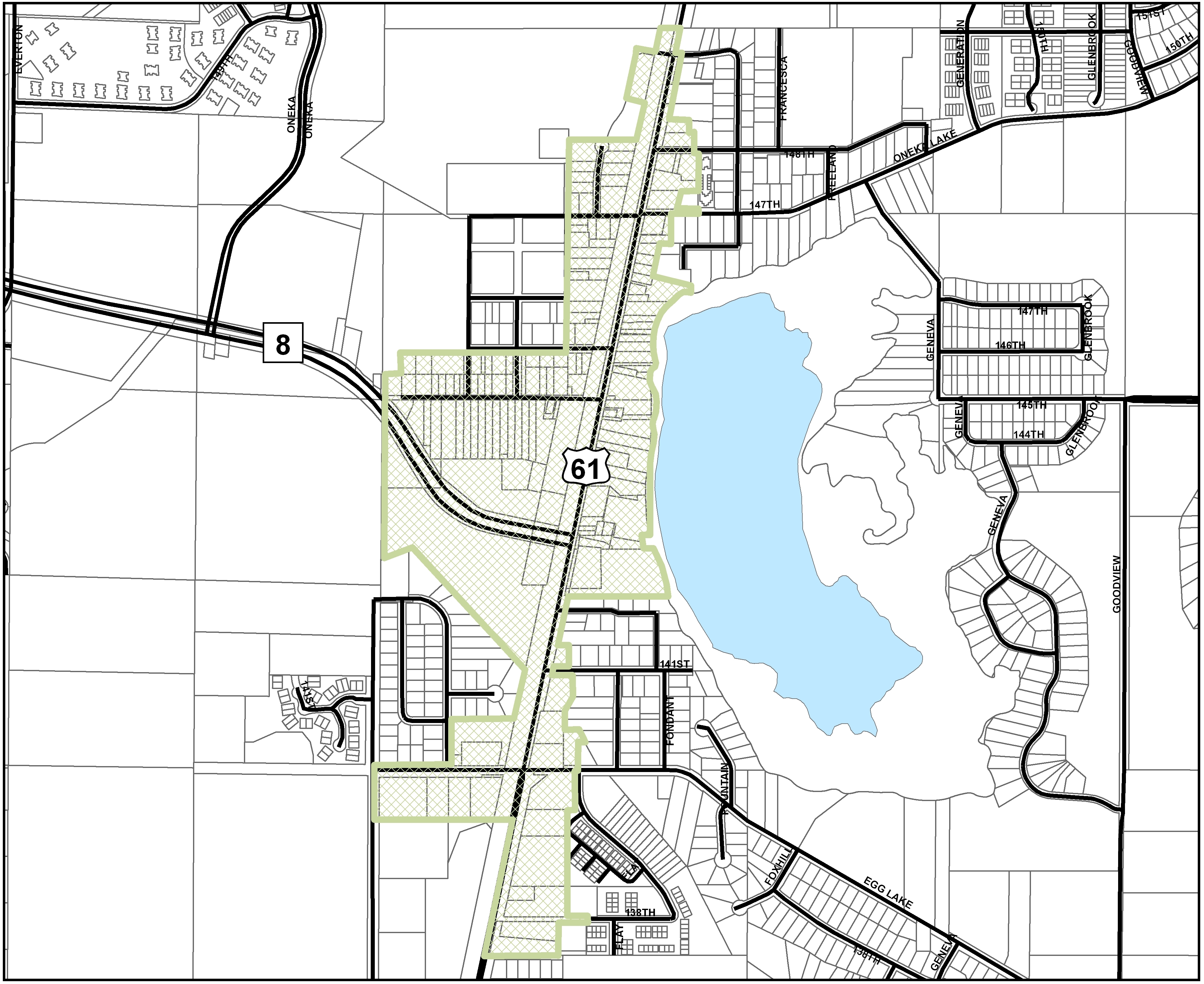Hugo Minnesota Map.Development Opportunities City Of Hugo